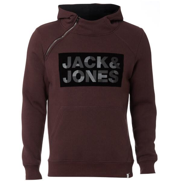 Jack & Jones Men's Core Kalvo Hoody - Fudge