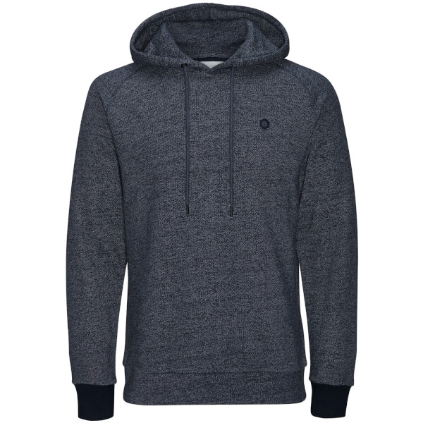 Sweat à Capuche Homme Core Win Textured Jack & Jones - Bleu Marine
