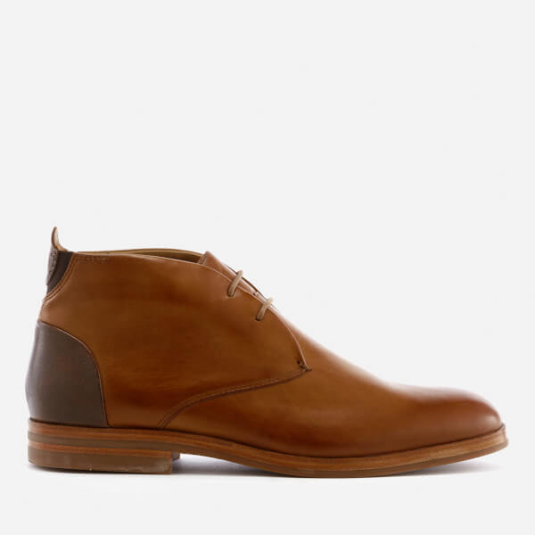 Hudson London Men's Matteo Leather Desert Boots - Tan
