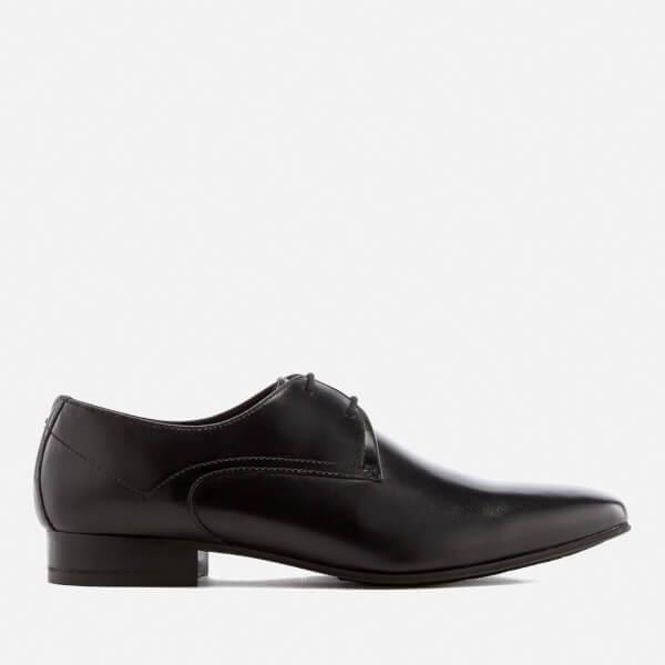 Hudson London Men's Leto Leather Derby Shoes - Black