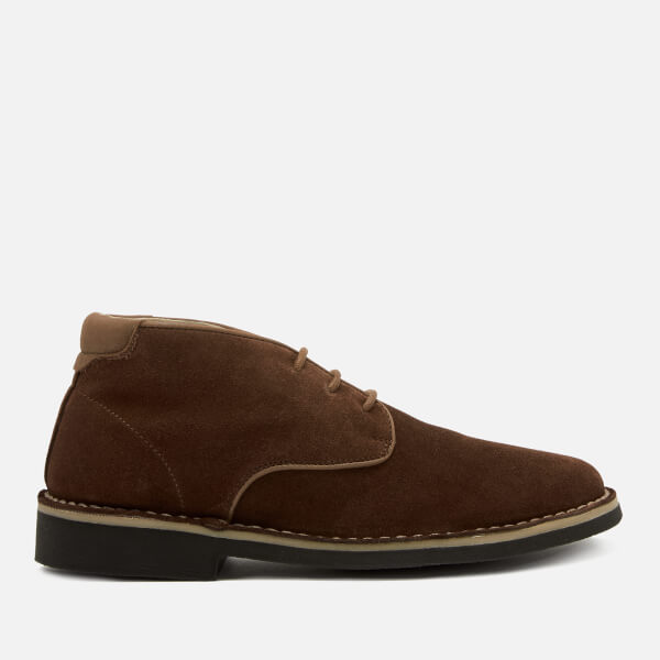 Hudson London Men's Margrey Suede Desert Boots - Brown