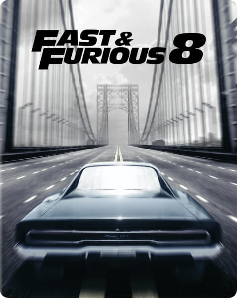 fast furious 8 4k ultra hd zavvi exclusive limited edition steelbook includes 2d version. Black Bedroom Furniture Sets. Home Design Ideas