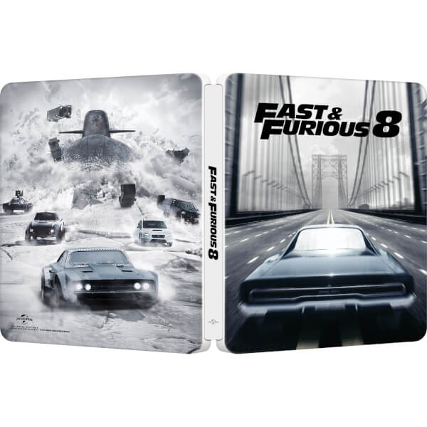 fast furious 8 zavvi exclusive limited edition steelbook digital download blu ray zavvi. Black Bedroom Furniture Sets. Home Design Ideas