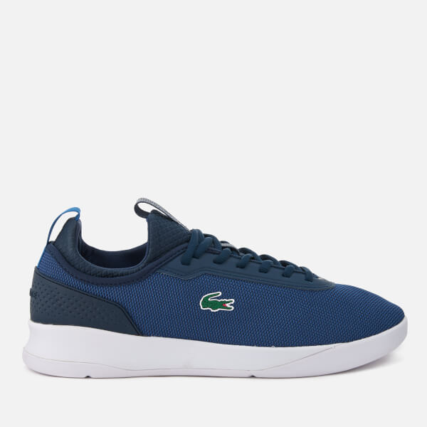 Lacoste Men's LT Spirit 2.0 317 1 Runner Trainers - Navy/Dark Blue
