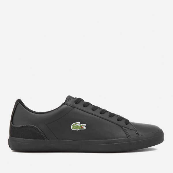 22a27a41f4b9c Lacoste Men s Lerond 317 1 Trainers - Black Black Mens Footwear ...