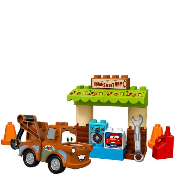 lego duplo cars 3 mater 39 s shed 10856 toys. Black Bedroom Furniture Sets. Home Design Ideas