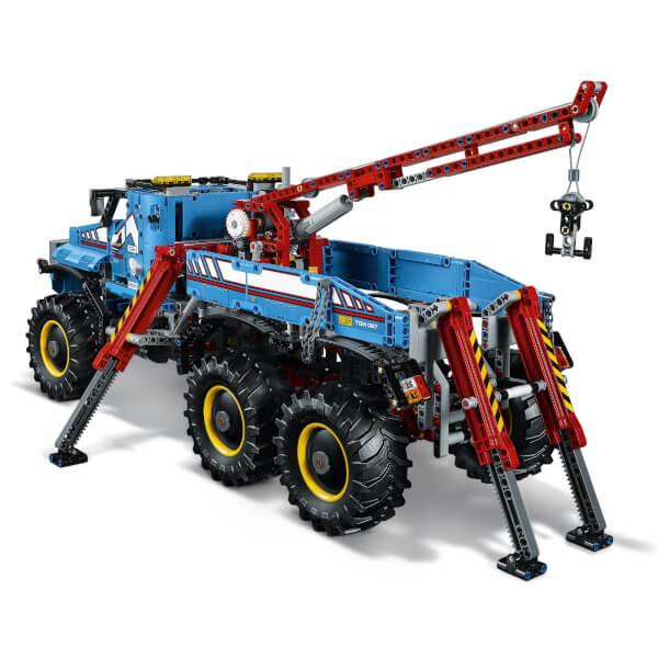lego technic 6x6 remote control all terrain tow truck 42070 toys zavvi. Black Bedroom Furniture Sets. Home Design Ideas
