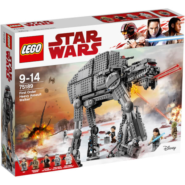 LEGO Star Wars Episode VIII: First Order Heavy Assault Walker (75189)