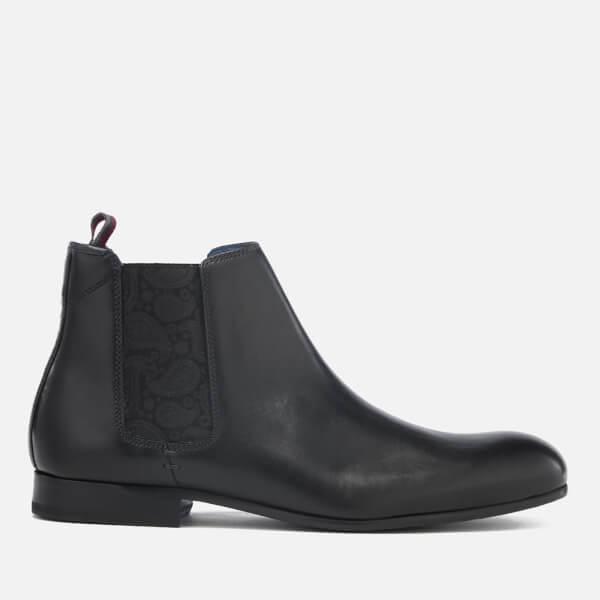 Ted Baker Men's Kayto Leather Chelsea Boots - Black