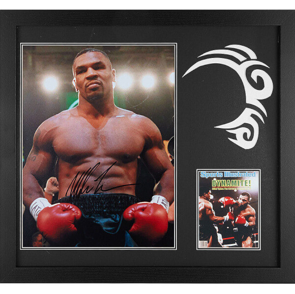 Mike Tyson Signed and Framed 16 x 20 Photograph