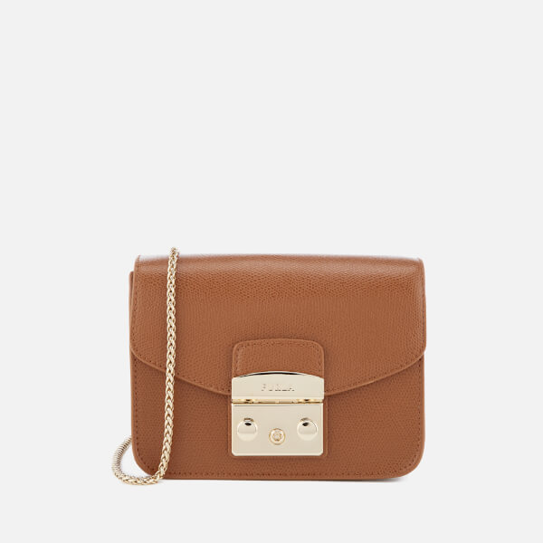 Furla Women's Metropolis Mini Cross Body Bag - Tan