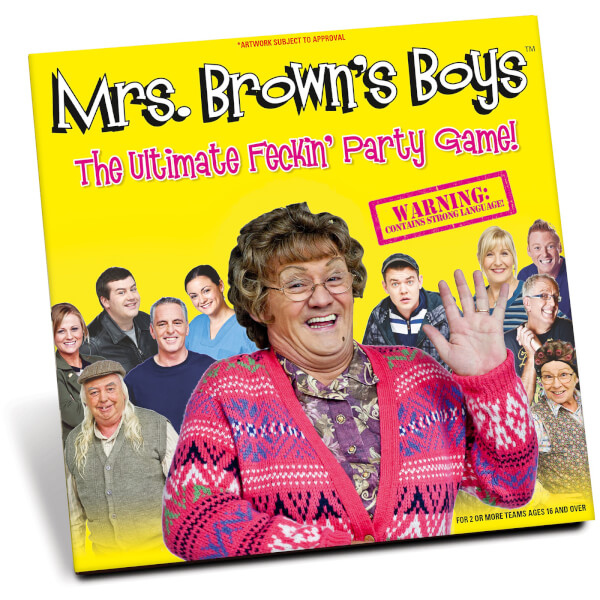 Mrs Brown's Boys Party Game - 'Feck' Version