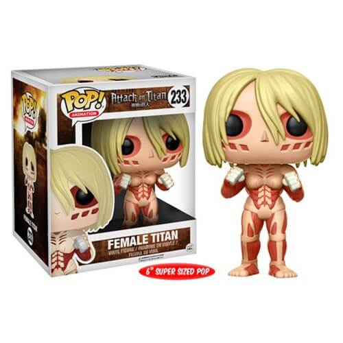 Figurine Funko Pop! L'Attaque des Titans Female Titan 15 cm