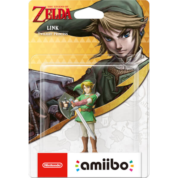 Link (Twilight Princess) amiibo (The Legend of Zelda Collection)