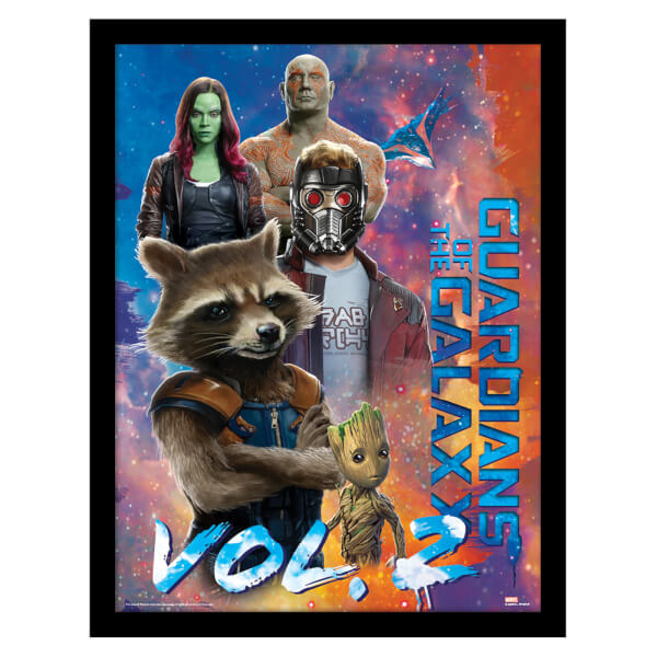 Guardians of the Galaxy Vol. 2 (The Guardians) Framed 30 x 40cm Print
