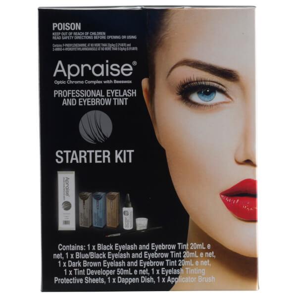 Apraise Professional Eyelash And Eyebrow Tint Starter Kit ...