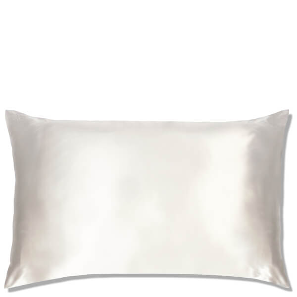 Slip Silk Pillowcase Queen White Free Shipping