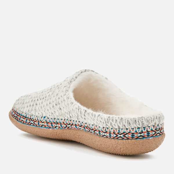 9c0e7888fbe TOMS Women s Ivy Sweater Knit Slippers - Birch  Image 4