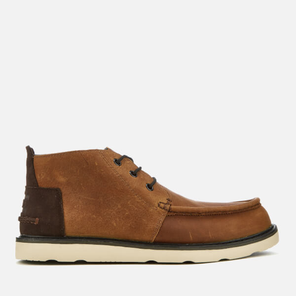 d1217b67b61 TOMS Men s Waterproof Leather Chukka Boots - Brown  Image 1