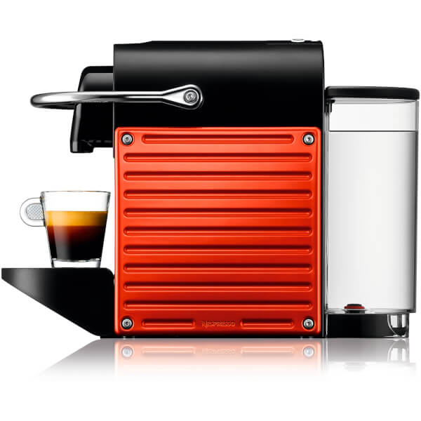 nespresso by krups xn300640 pixie coffee machine red iwoot. Black Bedroom Furniture Sets. Home Design Ideas
