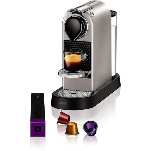 Nespresso by krups xn740540 citiz coffee machine silver homeware - Machine a cafe krups nespresso ...