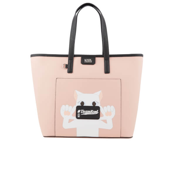 Karl Lagerfeld The Photographer Team Karl Shopper Bag - Pink