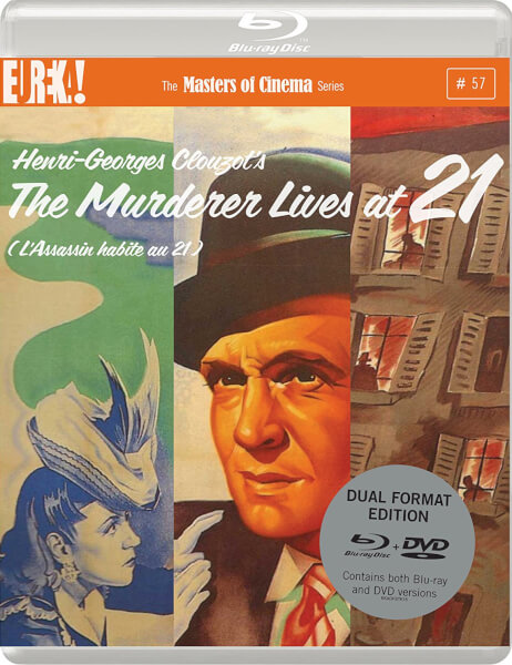 The Murderer Lives at 21 (Masters Of Cinema) - Dual Format (Includes DVD)
