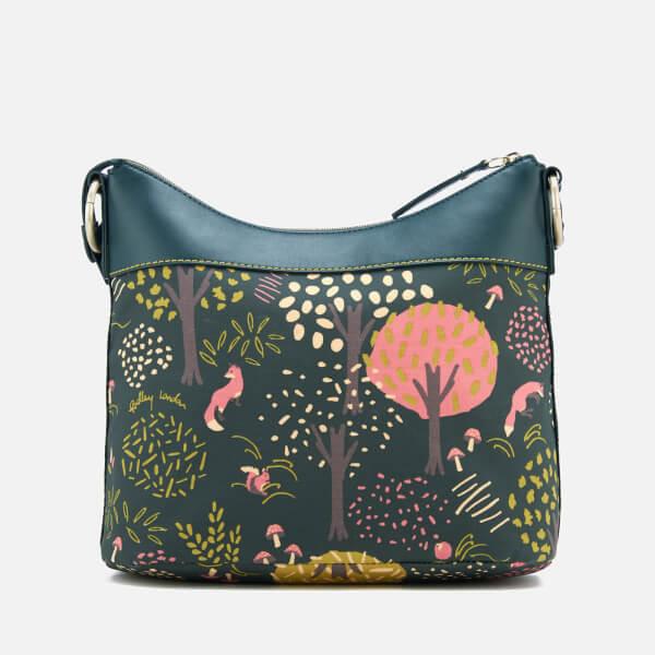bc497178a9 Radley Women's Epping Forest Medium Ziptop Hobo Bag - Pine: Image 2