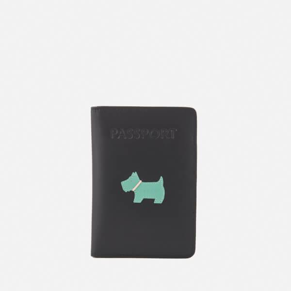 Radley Women's Heritage Dog Passport Cover - Black