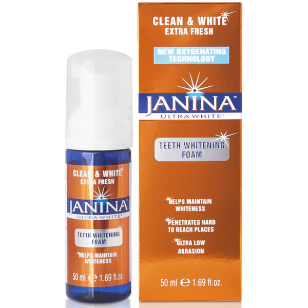 Janina Clean and White Extra Fresh Teeth Whitening Foam 50ml