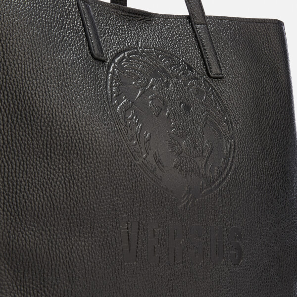 Versus Versace Women s Lion Embossed Tote Bag - Black  Image 4 b8a2a4bd973a8