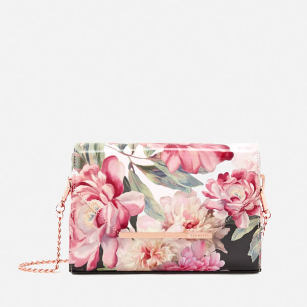 Ted Baker Women S Paige Painted Posie Cross Body Bag Baby Pink