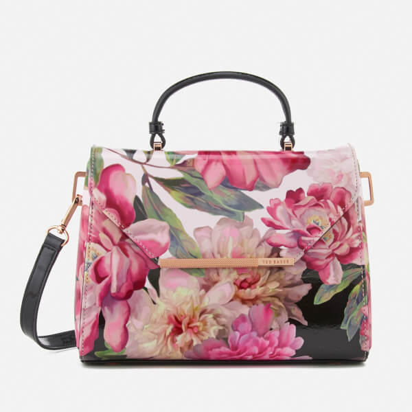 c914aee233c274 Ted Baker Women s Petall Painted Posie Small Lady Bag - Baby Pink  Image 1