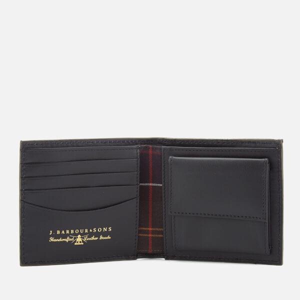 da4da7f3 Barbour Men's Grain Leather Wallet - Black: Image 4
