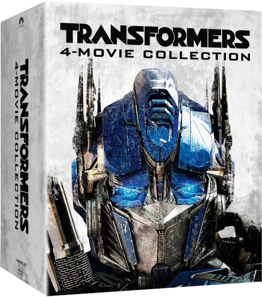 Transformers 1-4 - Zavvi Exclusive Limited Edition Steelbook Box Set