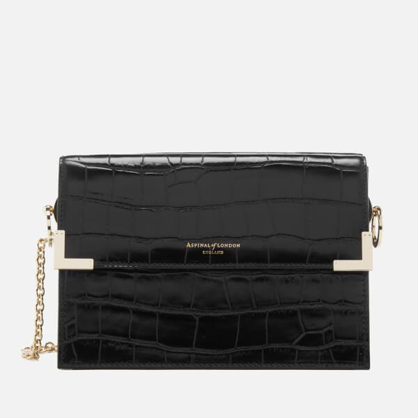 Aspinal of London Women's Chelsea Bag - Black