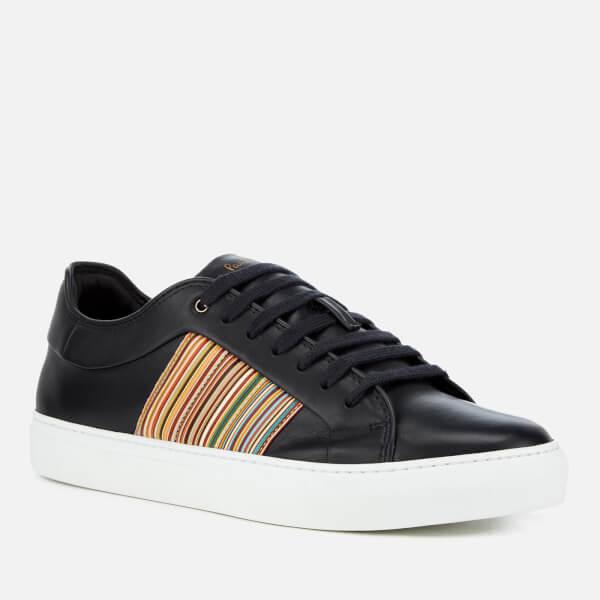 Paul Smith Navy Ivo Multistripe Sneakers 4D1Sgx