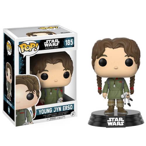 Figurine Funko Pop! Star Wars Rogue One (2e Vague) Jeune Jyn Erso