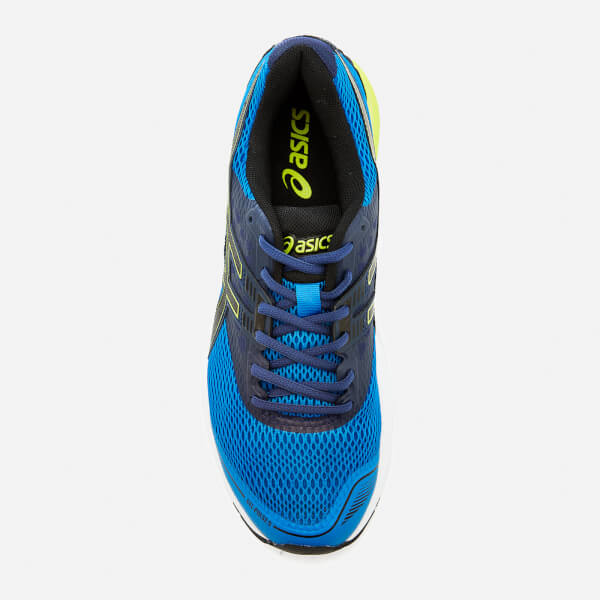 6e73d4c492a3 Asics Running Men s Gel Pulse 9 Trainers - Directoire Blue Black Indigo Blue