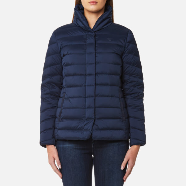 GANT Women's Lightweight Down Jacket - Marine