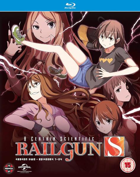 A Certain Scientific Railgun - Season 2 (Blu-ray/DVD Combo)