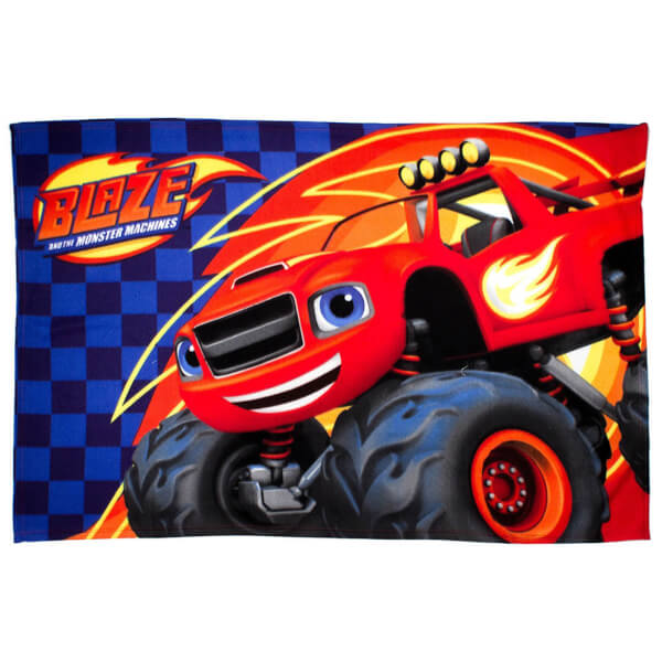 Nickelodeon Blaze Zoom Fleece Blanket