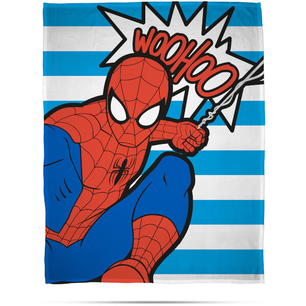 Disney Marvel Ultimate Spider-Man Abstract Fleece Blanket