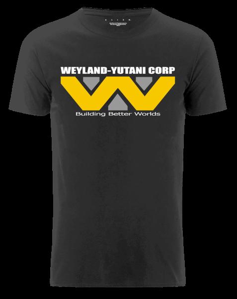 Weland-Yutani Corps Men's Black T-Shirt