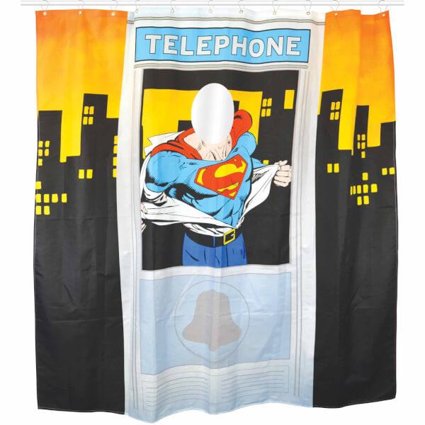 Rideau de Douche Superman DC Comics - Téléphone