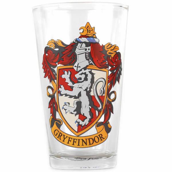 Verre Blason de Gryffondor Harry Potter - Avec Boîte Cadeau