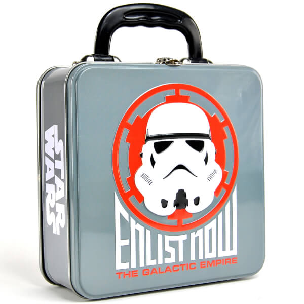 Star Wars Stormtrooper Embossed Tin Tote