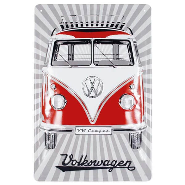 VW Collection Front Metal Sign (20 x 30cm)