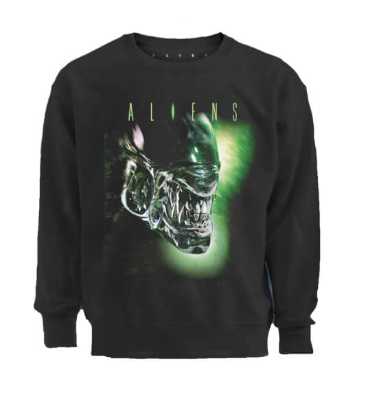 Aliens Xenomorph Men's Black Sweatshirt
