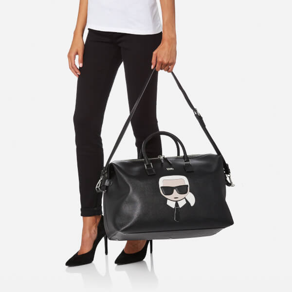 Ikonik Weekender bag - Black Karl Lagerfeld JeXhVVO